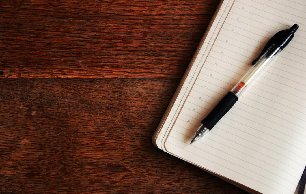 Organizando o dia no papel